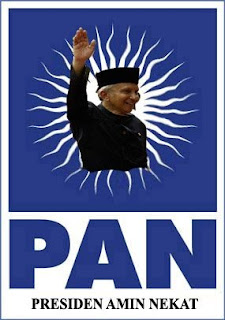 Plesetan Partai Amanat Nasional (PAN) - Partai Amin Nekat