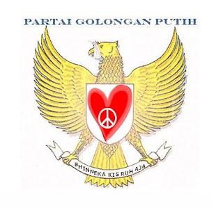 Logo Golput Karya Muhammad Amin
