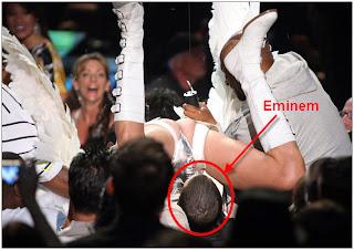 Eminem Marah di MTV Movie Awards 2009