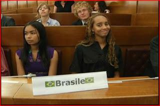 Mayara Tavares junior G8 delegate from Brazil