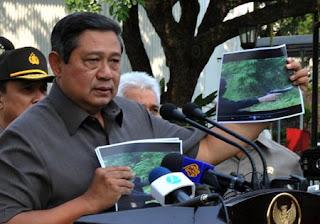 Sebelum kunjungan ke RS MMC, Presiden SBY mengadakan jumpa pers yang mengungkapkan adanya jaringan teroris.