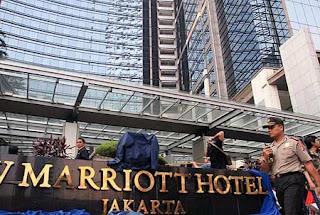 Ledakan di Hotel JW Marriott terjadi sekitar pukul 07.47 WIB