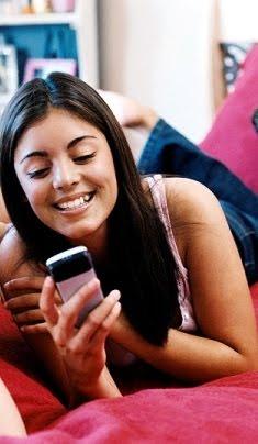 Y ahi está tú celular, un mensaje recibido..