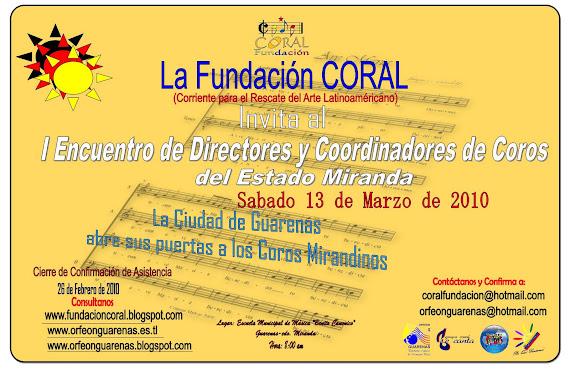 I Encuentro de Directores Mirandinos