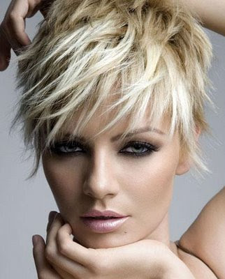Short Layered Crop Hairstyle
