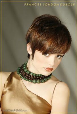 short red crop hairstyle Cool Short Layered Crop Hairstyle for Women