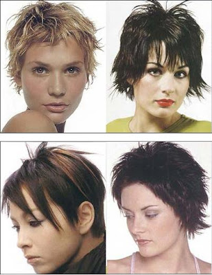 We've put together a gallery of pictures of very short hair styles,