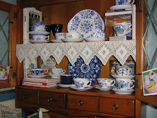 Blue and White Teacup Collection