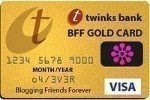 Blogging Friends Forever Gold Card Award