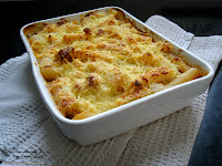 gratin poulet salsifi mascarpone fromage blanc recette