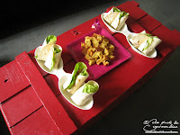 wrap thon concombre tortilla mayonnaise recette facile aperitif