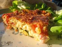 Clafouti tomate courgette jambon recette facile