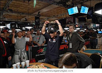 John Phan winning Event No. 40 at the 2008 WSOP