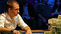 Justin Bonomo at the 2008 WSOP Event No. 4 final table