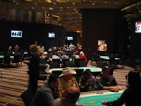 The MGM Grand poker room