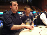 FerricRamsium readying for battle in the EPT Kyiv Media Tourney