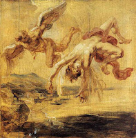 'The Fall of Icarus' by Peter Paul Rubens