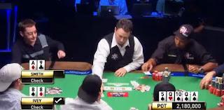 Ivey mucks the winning hand