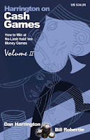'Harrington on Cash Games, Volume II' by Dan Harrington and Bill Robertie