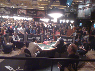 Phil Ivey and Bill Chen play heads up in Event No. 37