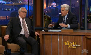 Barney Frank appears on 'The Tonight Show with Jay Leno'