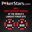 100% First Deposit Bonus at PokerStars