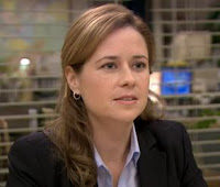 Pam uses strategy learned from the 'World Poker Tour' on 'The Office'