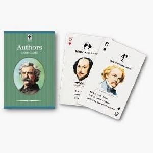 Authors playing cards!