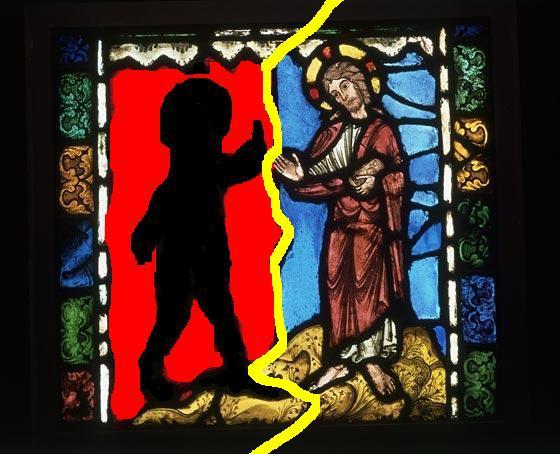 полтъргайсти Христос
