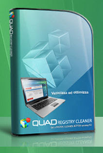 RIPULIRE E VELOCIZZARE IL PC : QUAD REGISTRY CLEANER
