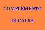 10 FRASI CON COMPLEMENTO DI CAUSA