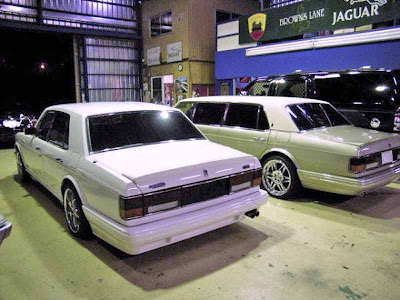 bentley turbo r body kit
