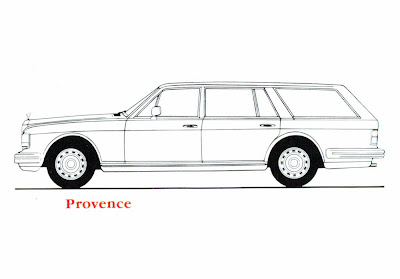 Rolls Royce Jankel Provenance Estate station wagon