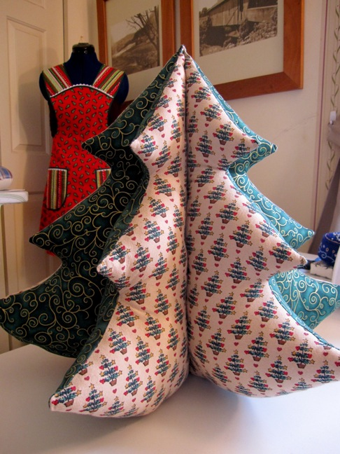 Sew Many Happies Christmas Crafts Stuffed Tree