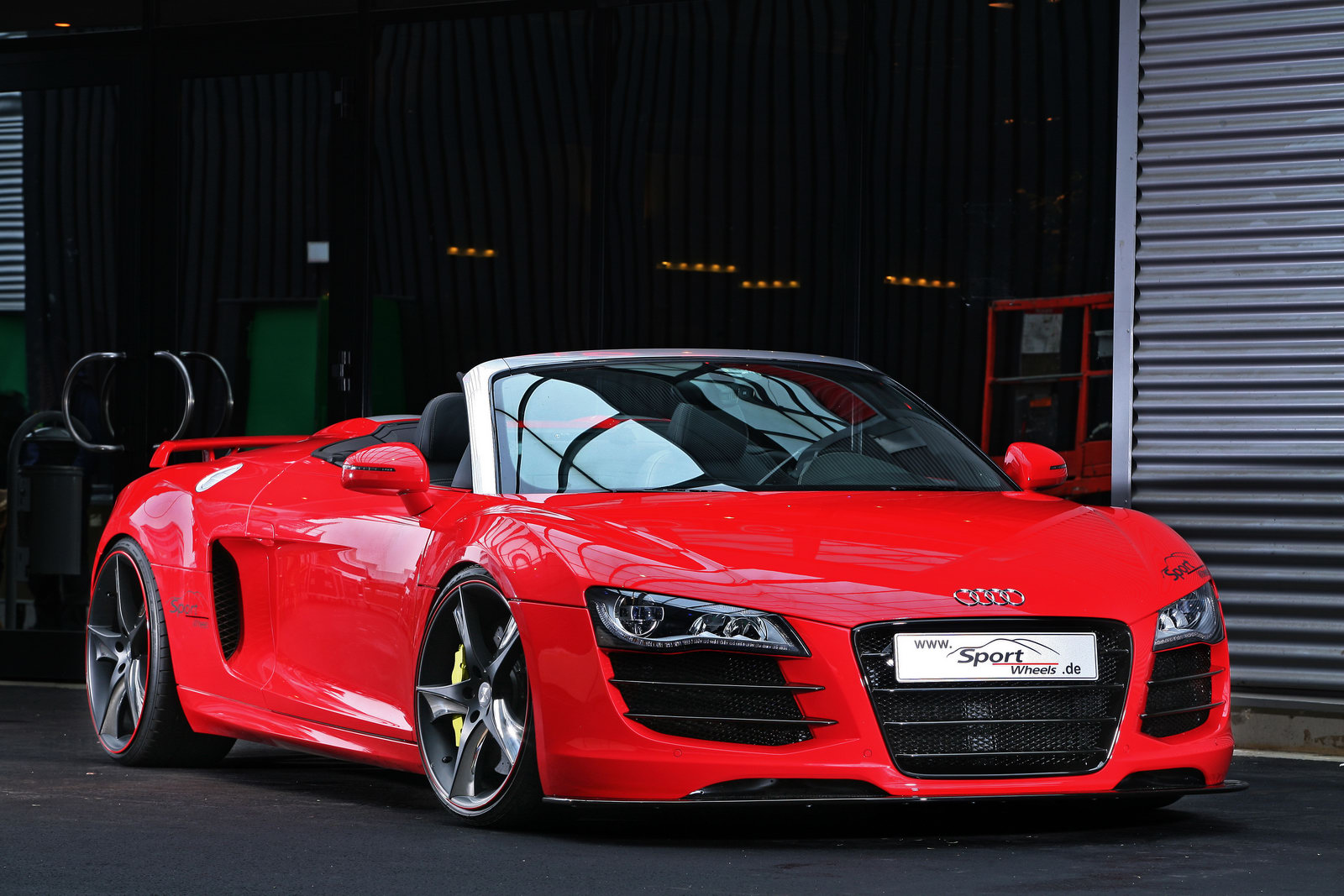 Dominix Cars Audi R8 Spark 10 Spyder Custom By Sport Wheels