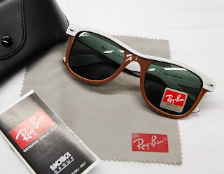 [WTS] Ray-Ban® Sunglasses Wayfarer+II+2143+white+brown