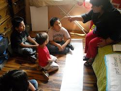 Mimi en la escuela Dominical
