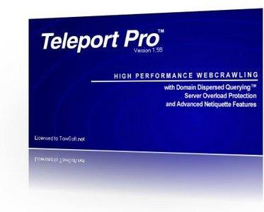 برنامج تنزيل المواقع Teleport Pro