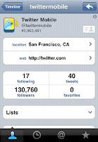 برنامج تويتر للبلاك بيري، للكمبيوتر، للايفون، اندرويد و لنوكيا Twitter