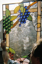 FIRST STAINED GLASS WINDOW