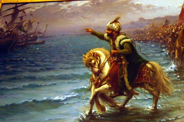 muhammad al fateh is the conqueror of Sultan muhammad al fateh atau yang disebut juga mehmed ii the conqueror dilahirkan pada tanggal 29 maret 1432 ketika berita kelahirannya disampaikan, ayahnya, sultan murad ii sedang membaca al quran tepat pada surat al fath ayat 1: sesungguhnya kami telah memberikan padamu kemenangan yang nyata.