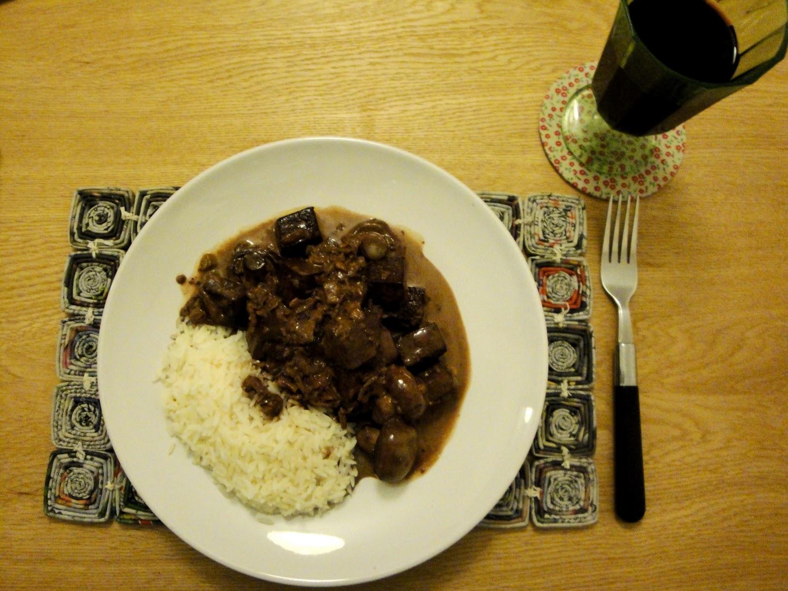 Culinary Conquests: Mushroom and Tofu Stroganoff