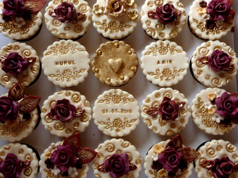 Burgundy Bundt Cake