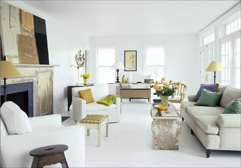Color watch mellowing out with yellow nbaynadamas for Living room yellow accents