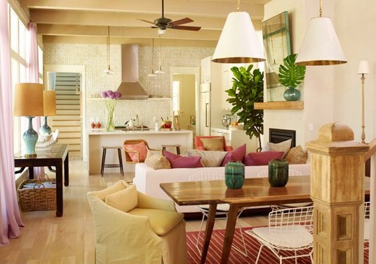 small open kitchen living room designs | Dreams House Furniture