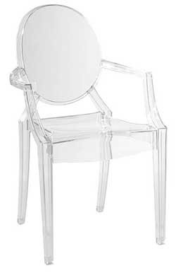 Philippe Starck Ghost Louis Chair from Design Within Reach