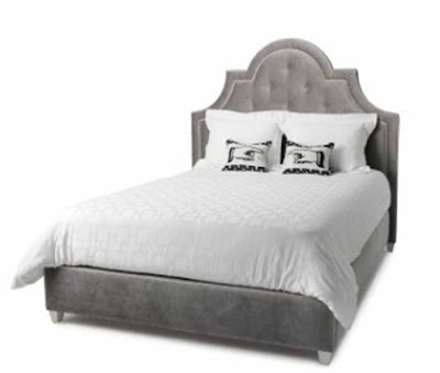 White  Risers on Metal Bed Frames For Headboard And Footboard