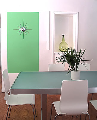 Modern Green Wall Decoration ~ Homez