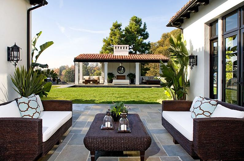 Outdoor living room furniture contemporary living room ideas for Outdoor living patio furniture