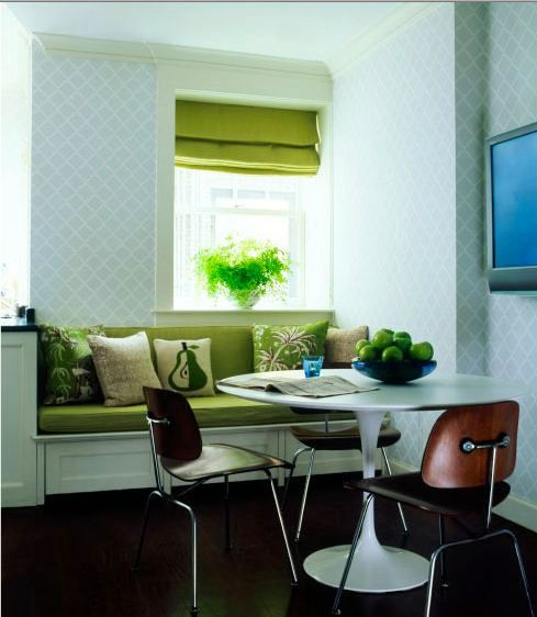 Breakfast_Nook_Bench_Seating http://www.cococozy.com/2010/07/lucite-dining-table-leads-me-to-fab-nyc.html